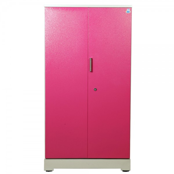 "Akshaya 2 Door Steel Wardrobe 42""  Pink"