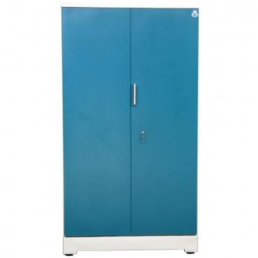 """Akshaya 2 Door Steel Almirah 42"""" Green"""