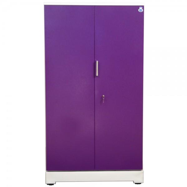 "Akshaya 2 Door Steel Wardrobe 42"" Purple"