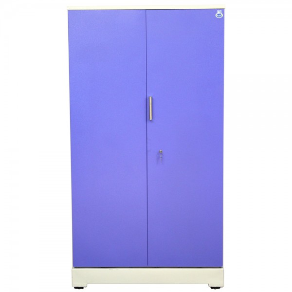 "Akshaya 2 Door Steel Cupboard 42"" Blue"