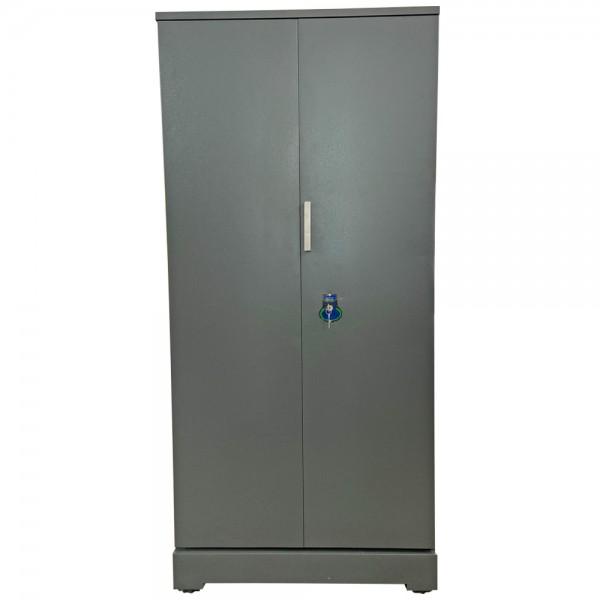 Swarna Office Cupboard Grey Steel