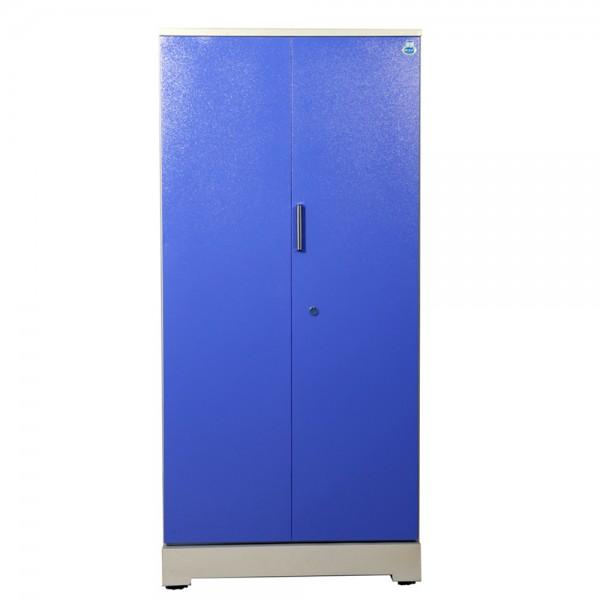 """Swarna 2 Door Steel Wardrobe 36""""  Blue"""