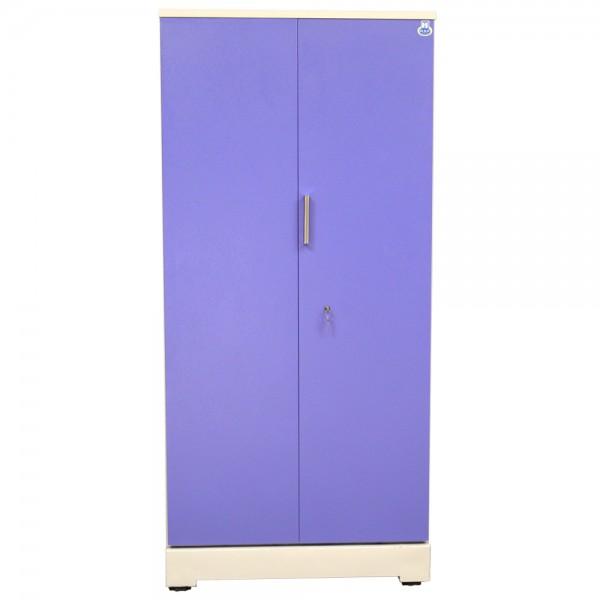 """Swarna 2 Door Steel Cupboard 36"""" Blue"""