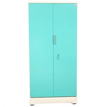 """Swarna 2 Door Steel Bero 36"""" Green"""