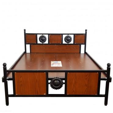 Queen Size Luxury Wood Cot 5ft Rosewood