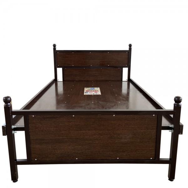 Double Cot Luxury Wooden Walnut 4 x 6 1/4 Feet