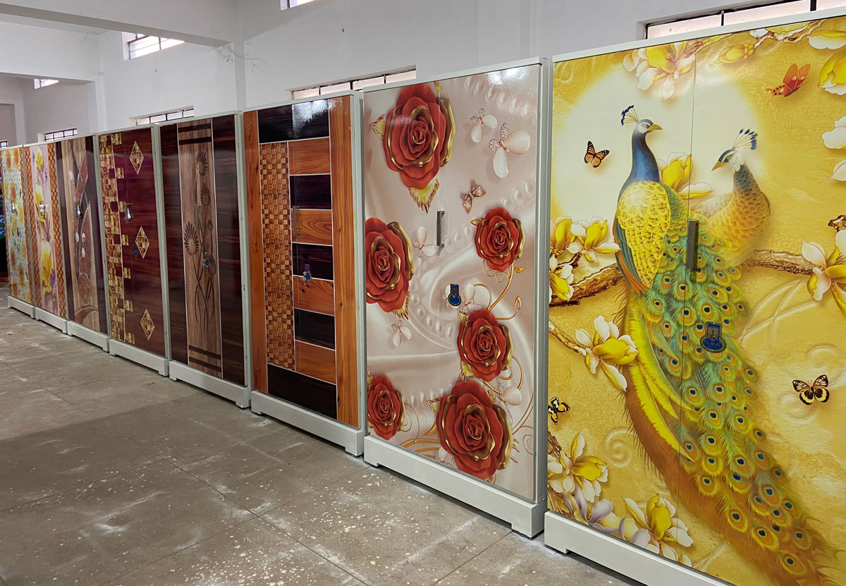 digital uv printed steel bero cupboard fancy modern designs steel bero cupboard india